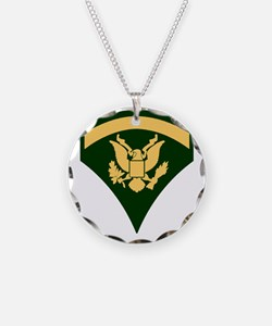 Army-SP5-Green-Four-Inches Necklace