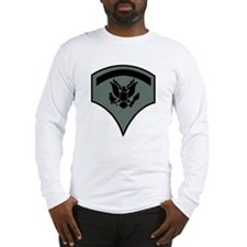 Army-SP5-Subdued-Green Long Sleeve T-Shirt