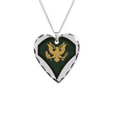 3-Army-SP4-Green-Four-Inches Necklace
