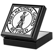 ARNG-Retired-Ring-Black-White Keepsake Box
