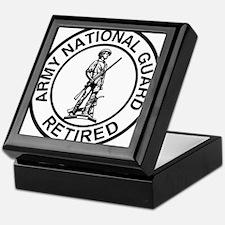 ARNG-Retired-Ring-Black-White Keepsake Box