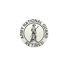 ARNG-Retired-Ring-Black-White Mini Button