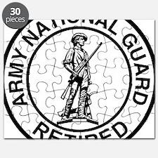 ARNG-Retired-Ring-Black-White Puzzle