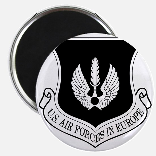 USAF-USAFE-Shield-BW-Bonnie Magnet