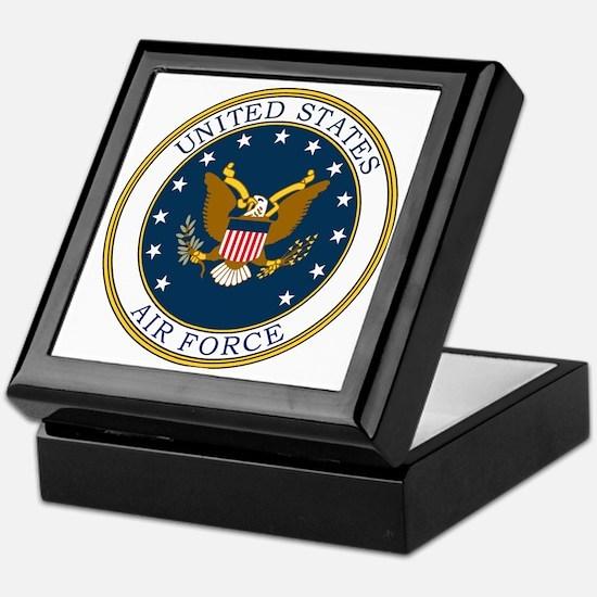 USAF-Patch-3 Keepsake Box