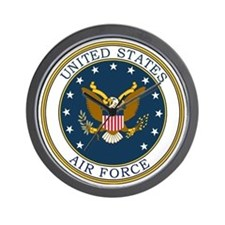 USAF-Patch-3 Wall Clock