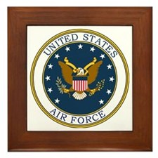 USAF-Patch-3 Framed Tile