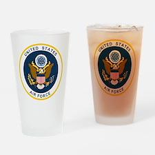 USAF-Patch-2 Drinking Glass