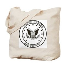 USAF-Patch-3-Midnight-Blue Tote Bag