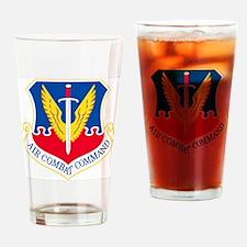 USAF-ACC-Shield Drinking Glass