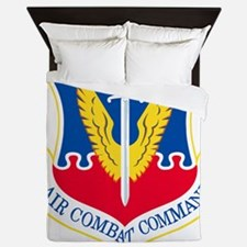 USAF-ACC-Shield Queen Duvet