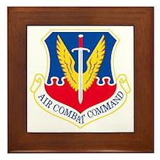 USAF-ACC-Shield Framed Tile