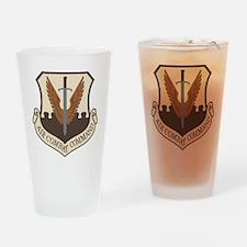 USAF-ACC-Shield-Desert Drinking Glass