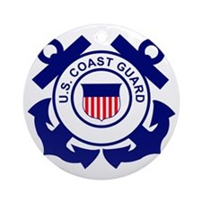 USCG-Logo-Without-Date Round Ornament