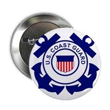 """USCG-Logo-Without-Date 2.25"""" Button"""