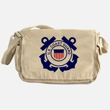USCG-Logo-Without-Date Messenger Bag