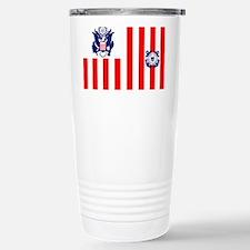 3-USCG-Flag-Ensign-Full-Color Travel Mug