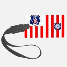 3-USCG-Flag-Ensign-Full-Color Luggage Tag