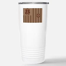 USCG-Flag-Ensign-Desert Travel Mug