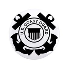 "USCG-Logo-Without-Date-Black 3.5"" Button"