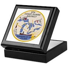 USCG-9th-CGD-Patch Keepsake Box