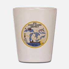 USCG-9th-CGD-Patch Shot Glass