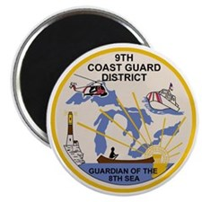 USCG-9th-CGD-Patch Magnet