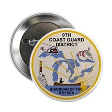 "USCG-9th-CGD-Patch 2.25"" Button"