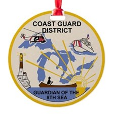 USCG-9th-CGD-Patch Ornament