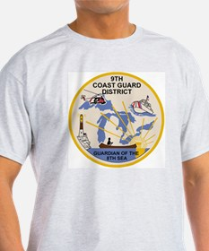 USCG-9th-CGD-Patch T-Shirt