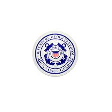 2-USCG-Defenders-Blue-White Mini Button