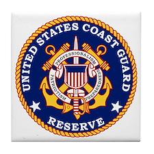 USCGR-Logo Tile Coaster