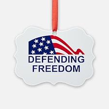 USCGR-Defending-Freedom-Flag Ornament