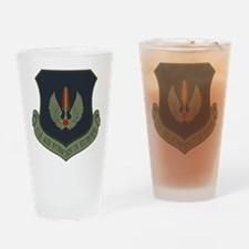 2-USAF-USAFE-Shield-Subdued Drinking Glass