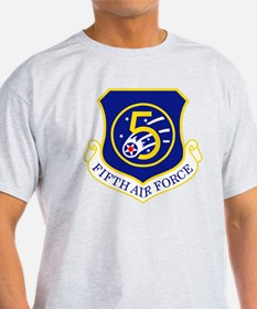 USAF-5th-AF-Shield T-Shirt
