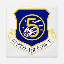 USAF-5th-AF-Shield Queen Duvet