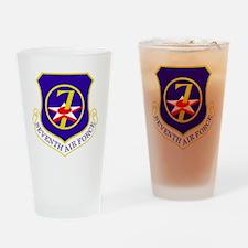 USAF-7th-AF-Shield Drinking Glass