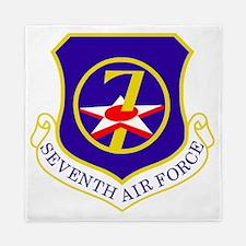 USAF-7th-AF-Shield Queen Duvet