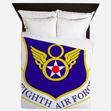 USAF-8th-AF-Shield-Bonnie Queen Duvet