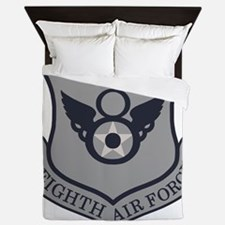 USAF-8th-AF-Shield-ABU Queen Duvet