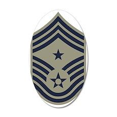 USAF-CMC-ABU 35x21 Oval Wall Decal