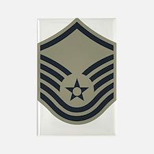 USAF-MSgt-ABU Rectangle Magnet