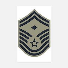 USAF-First-SMSgt-ABU Sticker (Rectangle)