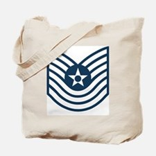 USAF-MSgt-Old-Blue Tote Bag