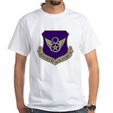 USAF-8th-AF-Shield-Subdued-Blue Shirt