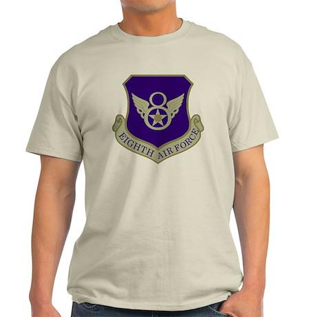 USAF-8th-AF-Shield-Subdued-Blue Light T-Shirt