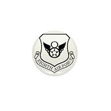USAF-8th-AF-Shield-Black-White Mini Button