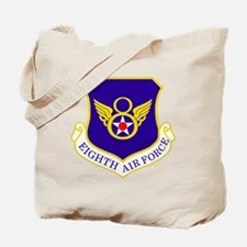 USAF-8th-AF-Shield-Bonnie Tote Bag