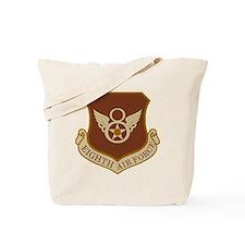 USAF-8th-AF-Shield-Desert Tote Bag