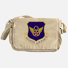 USAF-8th-AF-Shield-Bonnie Messenger Bag